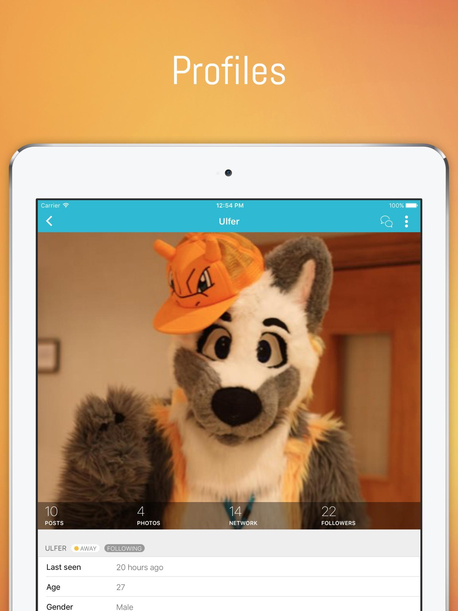 FERZU - Furries Social Network for Android - APK Download