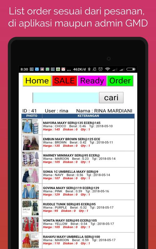 Gmd Grosir Maxi Dress For Android Apk Download