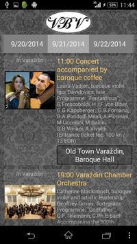 Varaždin Baroque Evenings apk screenshot