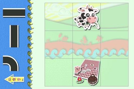Animal Picnic-Puzzles for Kids screenshot 1