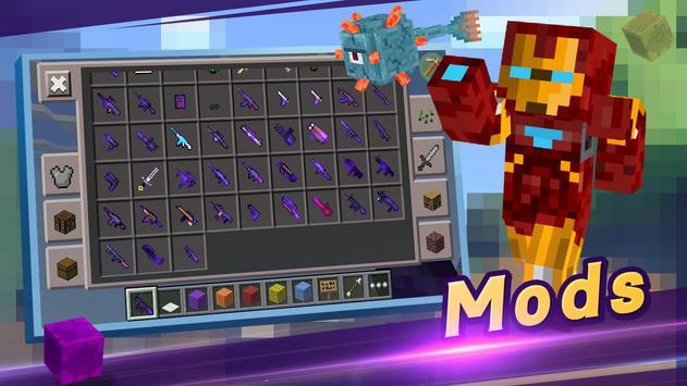 Master for Minecraft(Pocket Edition)-Mod Launcher apk screenshot