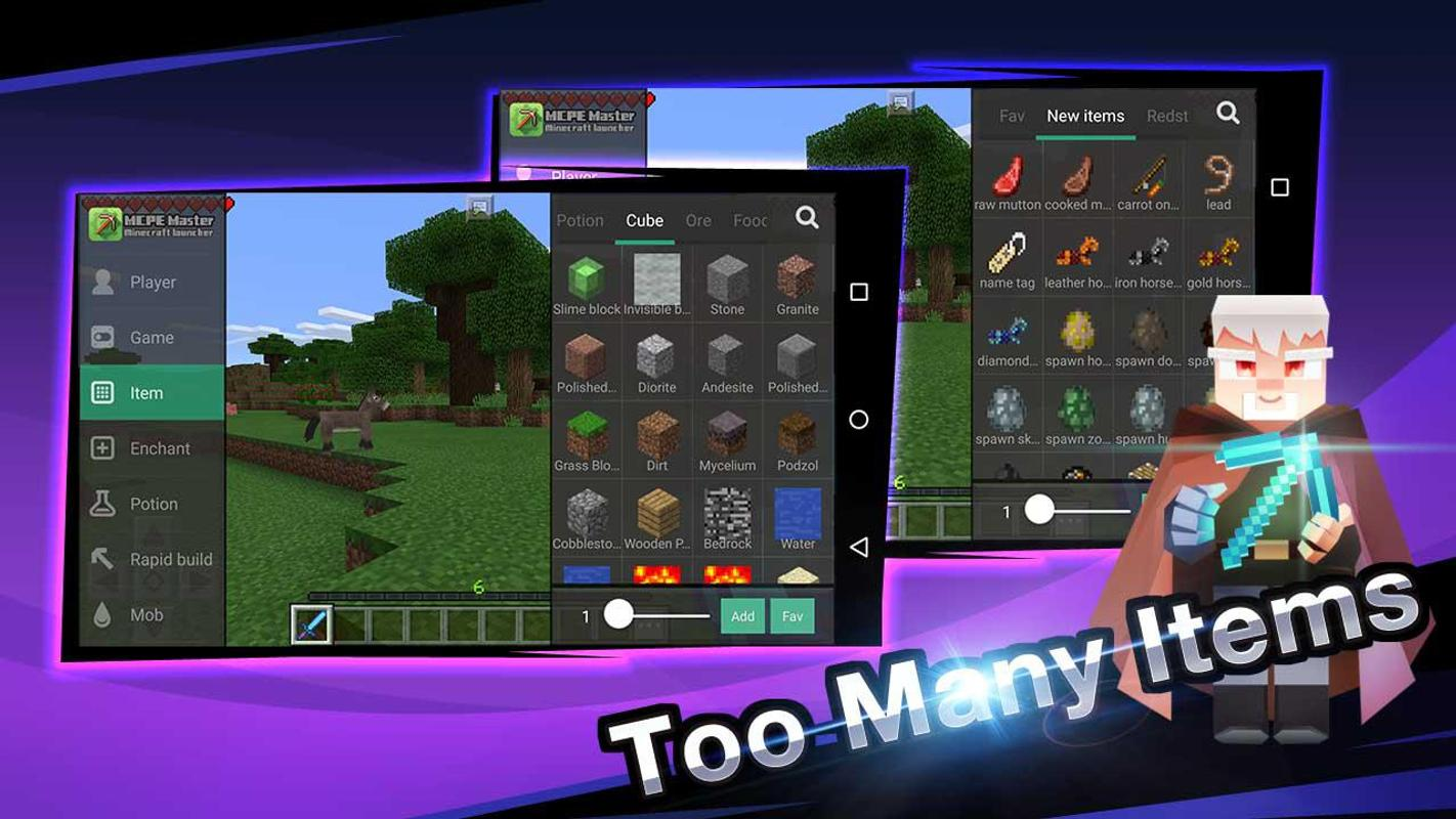 Master for Minecraft-Launcher APK Download - Free Tools ...