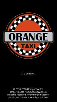 Orange Taxi poster