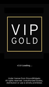 VIP Gold Booking App poster