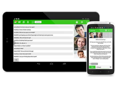 Guide Group Video Camfrog Chat apk screenshot