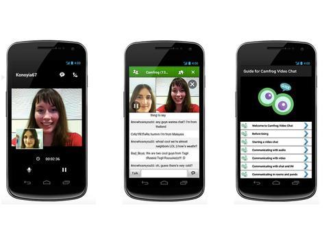 Guide Group Video Camfrog Chat screenshot 5