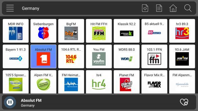 Radio Germany Online  - Music And News screenshot 2