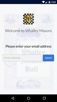 Whalley Masons poster