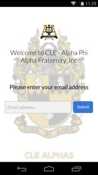 Alpha Phi Alpha - CLE screenshot 1
