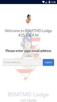 BSMTMD Lodge #35 F & A M screenshot 1