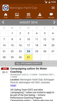 Mornington Yacht Club screenshot 2