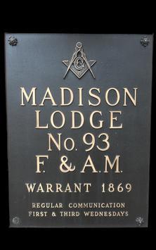 Madison Lodge #93 poster