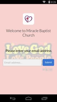 Miracle Baptist Church apk screenshot