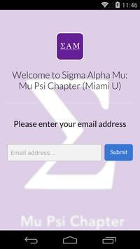 Sigma Alpha Mu - Mu Psi apk screenshot