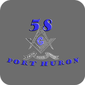 Port Huron Masonic Lodge 58 icon