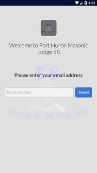 Port Huron Masonic Lodge 58 apk screenshot