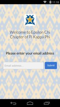Pi Kappa Phi - Epsilon Chi poster