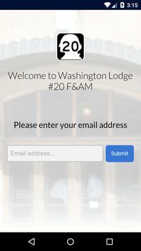 Washington Lodge #20 F&AM screenshot 1