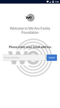 We Are Family Foundation apk screenshot