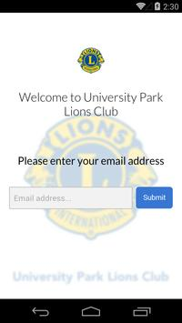 University Park Lions Club screenshot 1