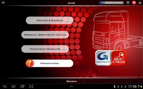 Groupauto GTruck apk screenshot