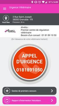 Urgence Vétérinaire poster