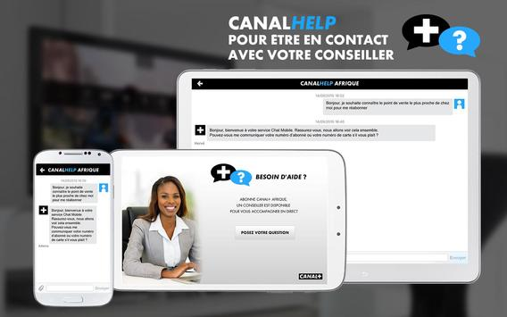 Canal Help Afrique poster