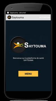 Saytouma Affiche