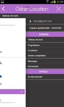 Gérer ma Location screenshot 4