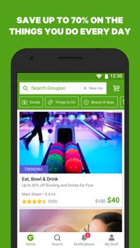 Groupon - Shop Deals, Discounts & Coupons poster