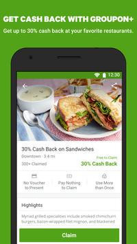 Groupon - Ofertas y descuentos top captura de pantalla de la apk