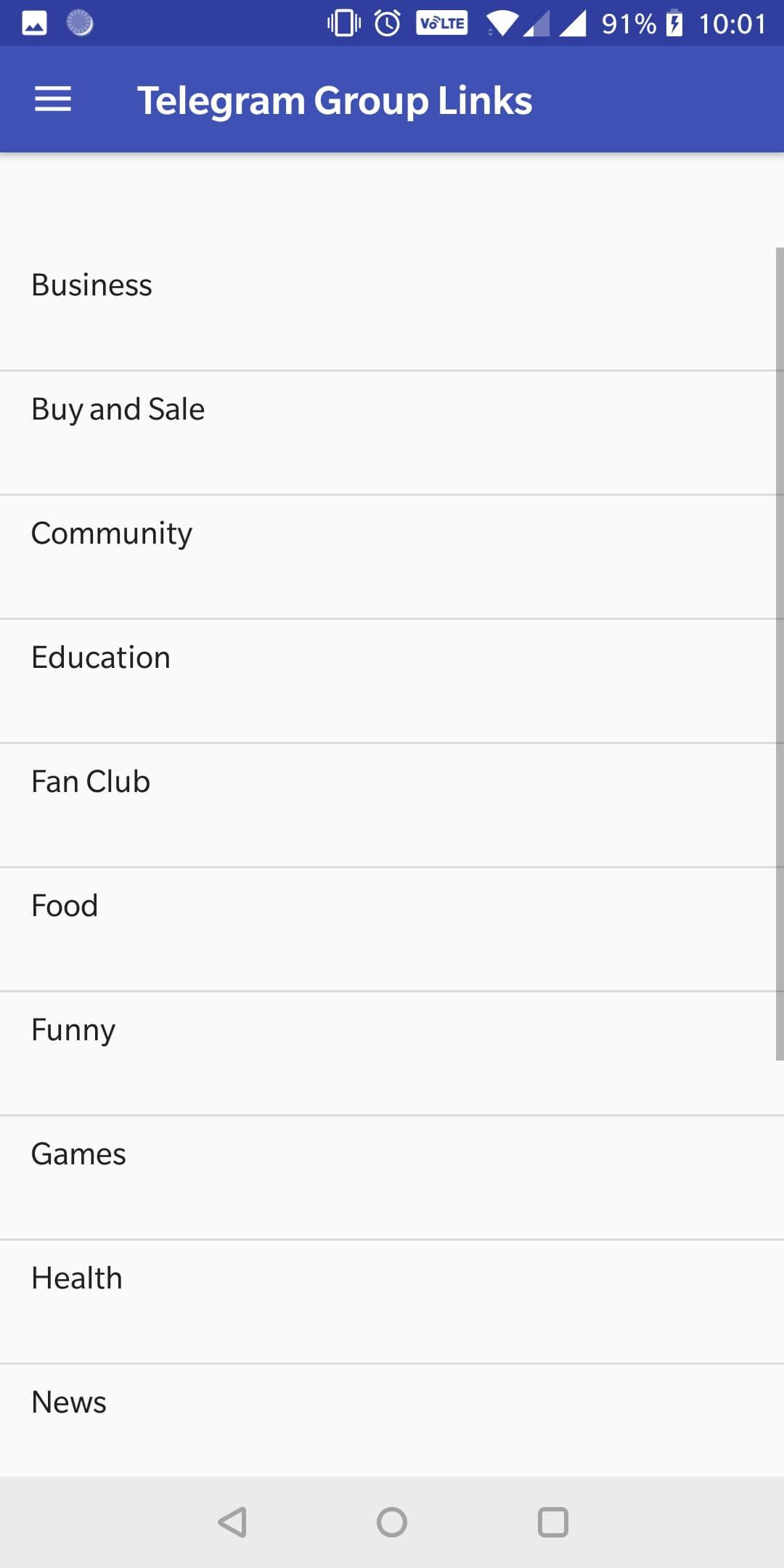 Unlimited Group Links for Telegram Group for Android - APK