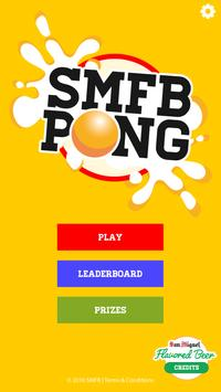 San Miguel Flavored Beer Pong Cartaz