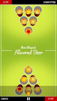San Miguel Flavored Beer Pong capture d'écran 1