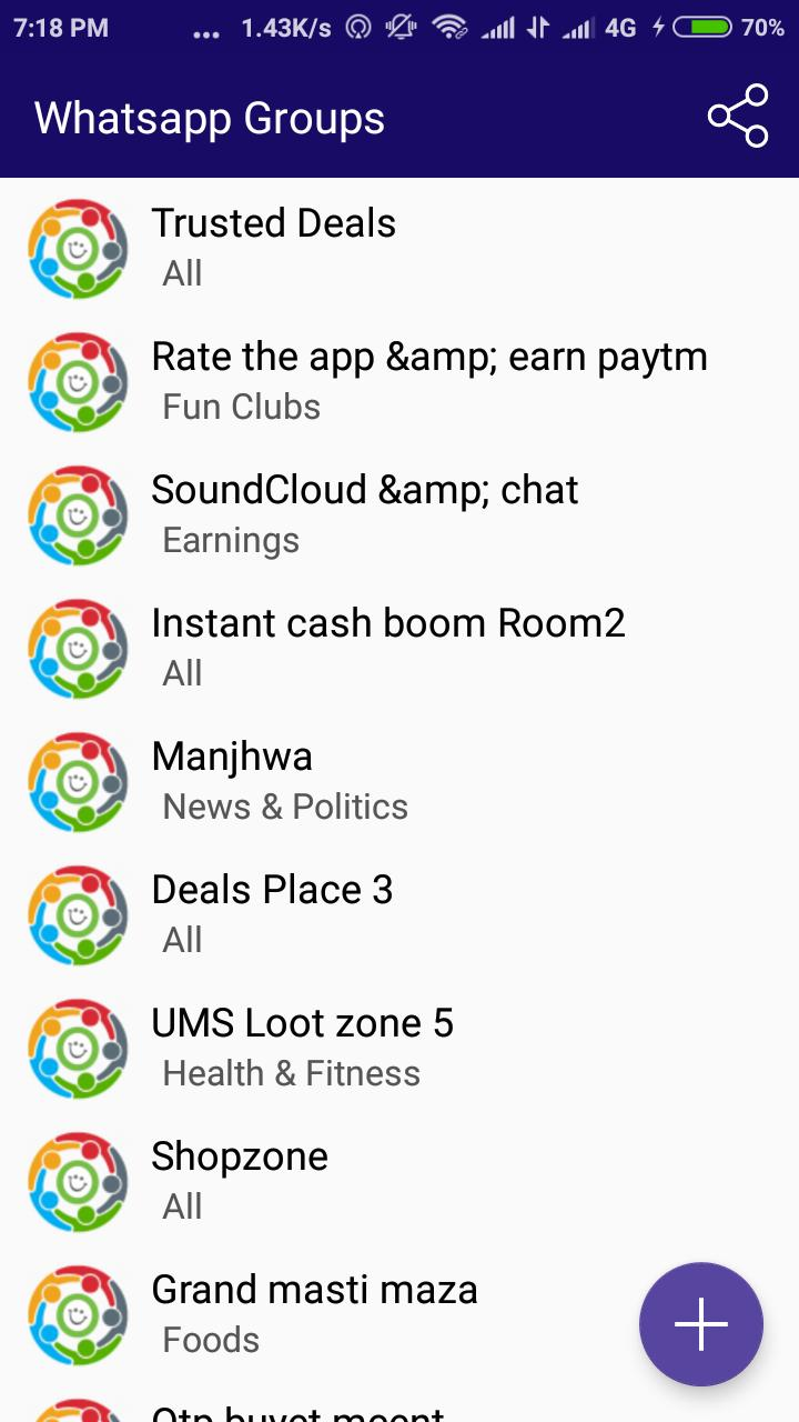 Join WhatsApp Group & Add Unlimited Group Free for Android