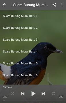 Suara Burung Murai Batu poster