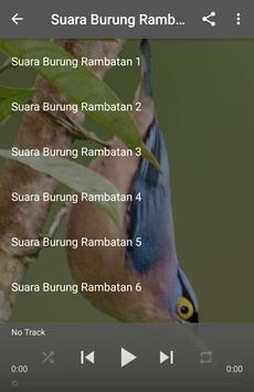 Suara Burung Rambatan apk screenshot