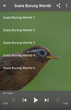 Suara Burung Wambi poster