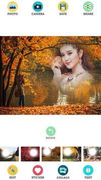 Autumn Photo Frames poster