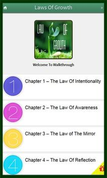 15 Invaluable Laws Of Growth poster