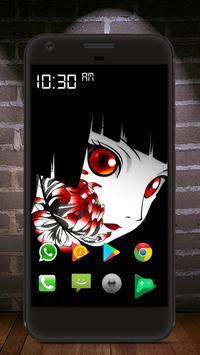 Kabuki art wallpaper screenshot 3