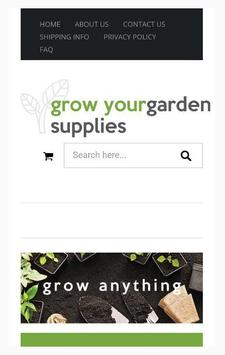 Grow Your Garden Supplies poster