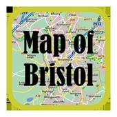 Maps of Bristol, England icon