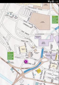 Map of Leeds, UK screenshot 1