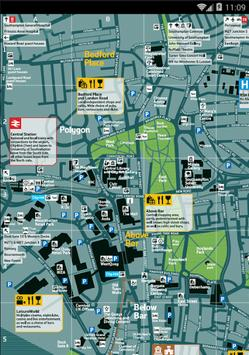 Map of Southampton, UK screenshot 1