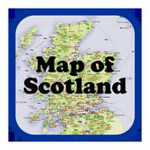 Maps of Scotland icon