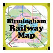 Birmingham Railway & Metro Map icon