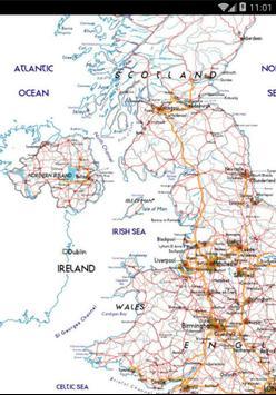 Detailed Street Map Of UK screenshot 1