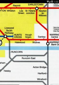 Liverpool TrainMap(Merseyrail) apk screenshot