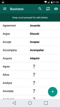 Learn Spanish Freemium apk screenshot